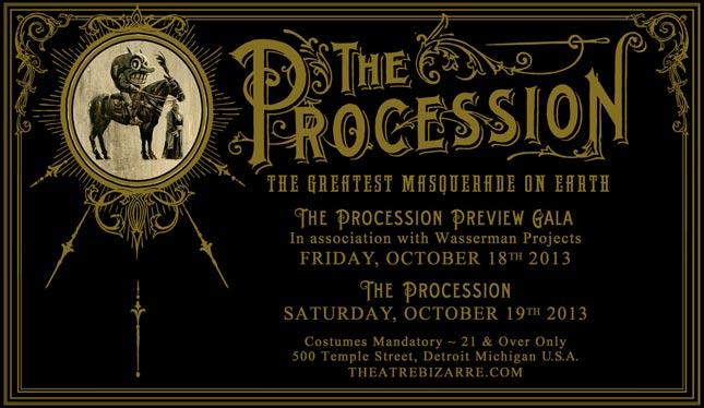 The Procession - Theatre Bizarre