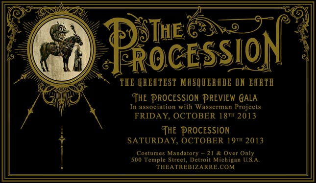 The Procession - Theatre Bizarre