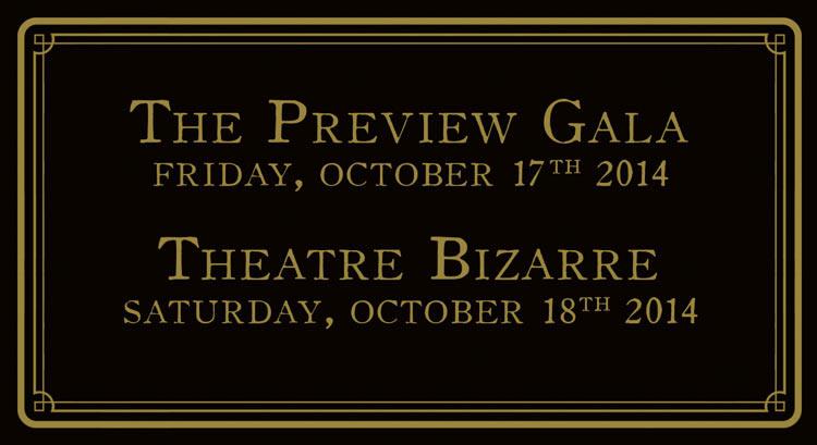 The Illusionists Ball Theatre Bizarre 2014